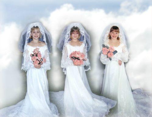 Three Brides in Heaven