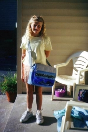 1st day of 6th grade - 2001