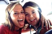 Jenna & Krista - July, 2003