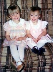 Krista (5), and Nikki (3) (1989
