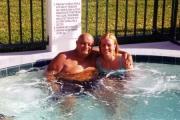 Grandpa and Krista in Florida (2002)