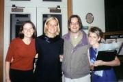 Krista with teachers (2002)