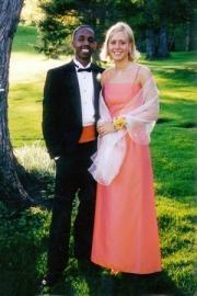 Urgessa & Krista at prom (2002)