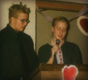 "Joey & Krista singing ""Eternity"" at Valentines Dinner"