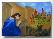 """""""Moses at the burning bush"""""""