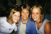 Nikki, Mom, and Krista at Family Camp
