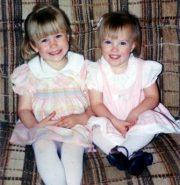 Krista (5 ) and Nikki (3) (1989)