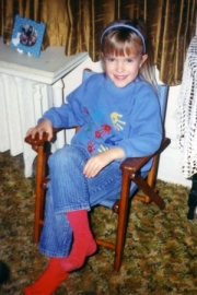 Nikki 4 years old (1991)