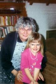 Nikki and Grandma Mayer (1991)