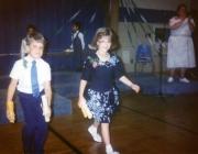Kindergarten graduation (1992)