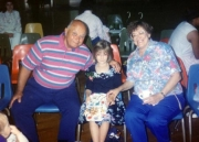 Nikki with Papa & Mema (1992)