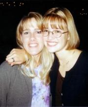 Nikki with Kelley (2000)