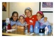 Nikki with friends in 2002