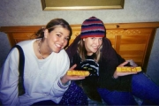 Jenna & Nikki at Youth Convention, Rochester (2003)