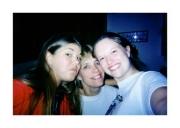 Cousin Jenna, Mom (Debbie), and Nikki (2003)