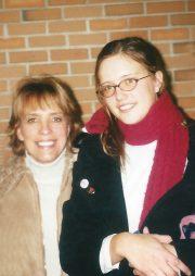 Mom & Nikki after concert (2003)