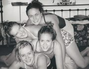 Megan, Nikki, Bree, and Krista = New years Eve