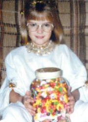 """Nikki her """"WIN"""" at Hallelujah party (1991)"""