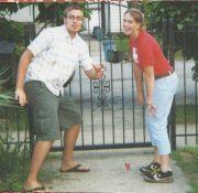 Joey & Nikki in NYC (2002)
